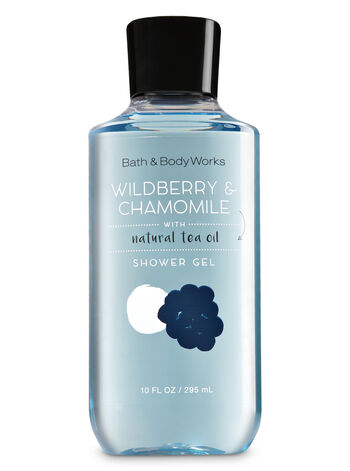 Signature Collection Wildberry & Chamomile Shower Gel - Bath And Body Works