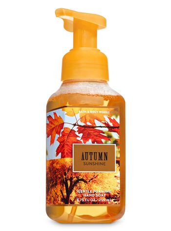 Autumn Sunshine Gentle Foaming Hand Soap - Bath And Body Works