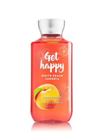 Signature Collection Get Happy - White Peach Sangria Shower Gel - Bath And Body Works