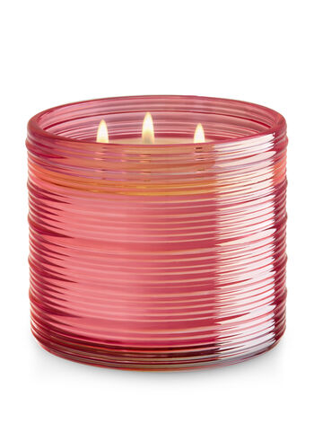 Pink Sands & Petals 3-Wick Candle - Bath And Body Works