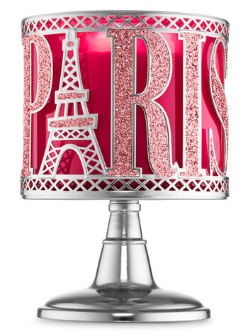 Paris Pedestal 3-Wick Candle Sleeve - Bath And Body Works