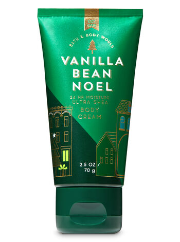 Signature Collection Vanilla Bean Noel Travel Size Body Cream - Bath And Body Works