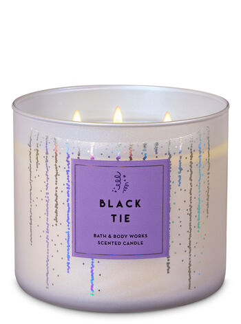 Black Tie 3-Wick Candle - Bath And Body Works