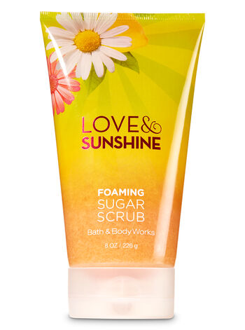 Signature Collection Love & Sunshine Foaming Sugar Scrub - Bath And Body Works