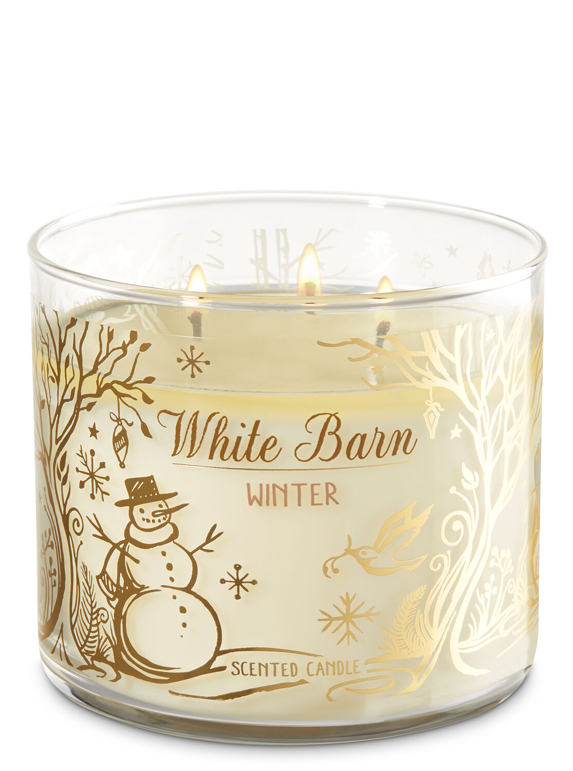 White Barn Winter 3 Wick Candle   Bath And Body Works. 3 Wick Candles   Bath   Body Works