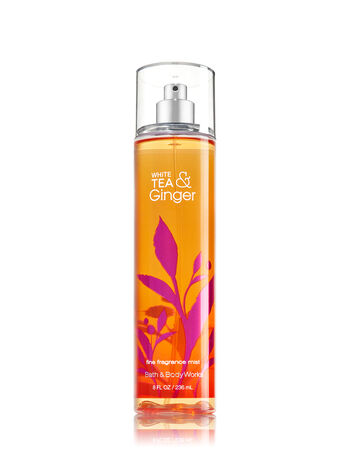 Signature Collection White Tea & Ginger Fine Fragrance Mist - Bath And Body Works