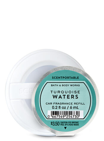 Turquoise Waters Scentportable Fragrance Refill - Bath And Body Works