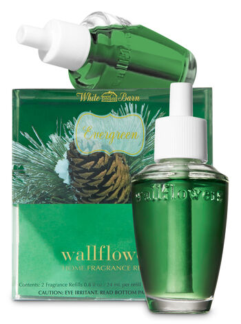 Evergreen Wallflowers Refills, 2-Pack - Bath And Body Works