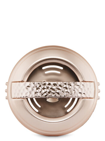 Hammered Rose Gold Vent Clip Scentportable Holder