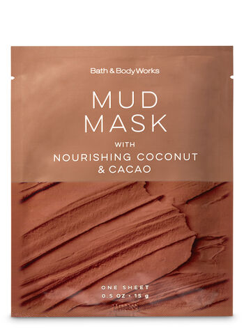 Mud Mask with Nourishing Coconut & Cacao Face Sheet Mask