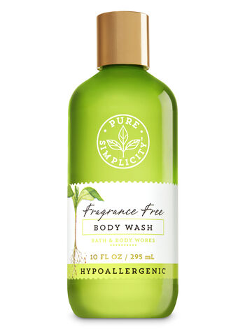 Fragrance Free Body Wash - Bath And Body Works