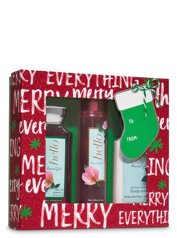 Hello Beautiful Merry Box Gift Set