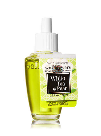 White Tea & Pear Wallflowers Fragrance Refill - Bath And Body Works