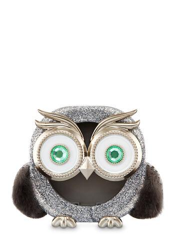 Sparkly Owl Visor Clip Scentportable Holder