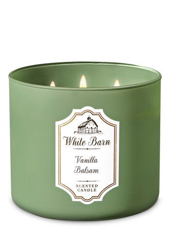 Bath & Body Works Candle in Vanilla Balsam