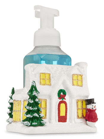 Ceramic Holiday House Hand Soap Holder - Bath And Body Works