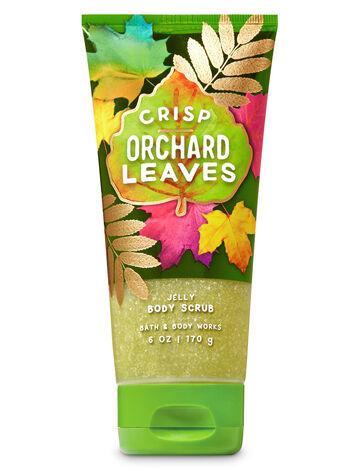 Crisp Orchard Leaves Jelly Body Scrub - Bath And Body Works