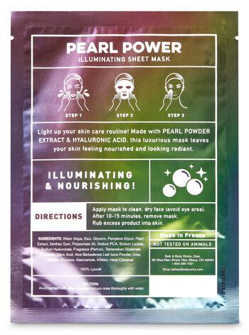Pearl Power Illuminating Face Sheet Mask