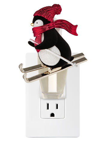 Skiing Penguin Nightlight Wallflowers Fragrance Plug
