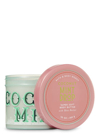 Signature Collection Coconut Mint Drop Super Soft Body Butter - Bath And Body Works