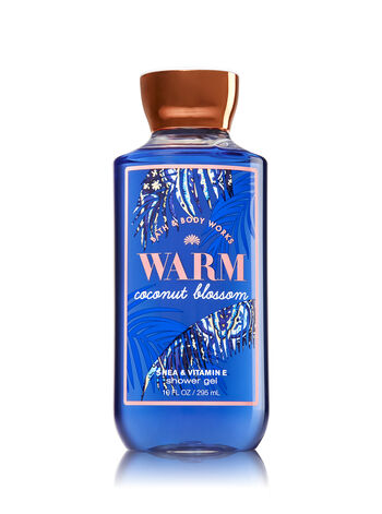 Signature Collection Warm Coconut Blossom Shower Gel - Bath And Body Works