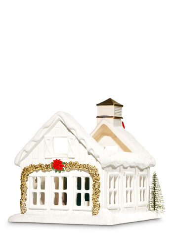 White Barn House Luminary 3-Wick Candle Holder