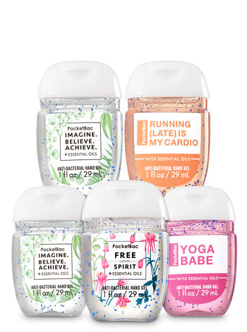 Imagine, Believe, Achieve 5-Pack PocketBac Sanitizers - Bath And Body Works