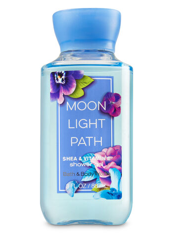 Signature Collection Moonlight Path Travel Size Shower Gel - Bath And Body Works