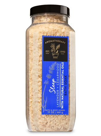 Aromatherapy Lavender & Cedarwood Bath Soak - Bath And Body Works