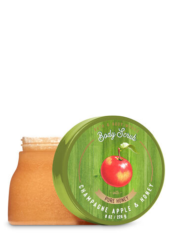 Signature Collection Champagne Apple & Honey Body Scrub - Bath And Body Works
