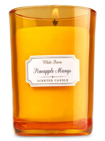 White Barn Pineapple Mango Medium Candle - Bath And Body Works