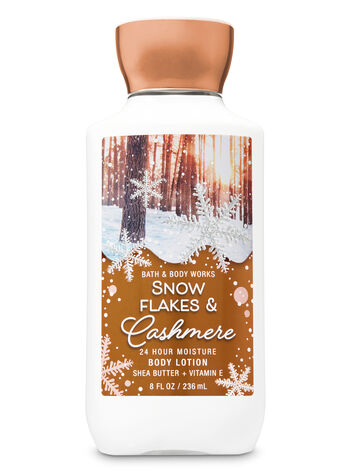 Snowflakes Amp Cashmere Super Smooth Body Lotion Signature