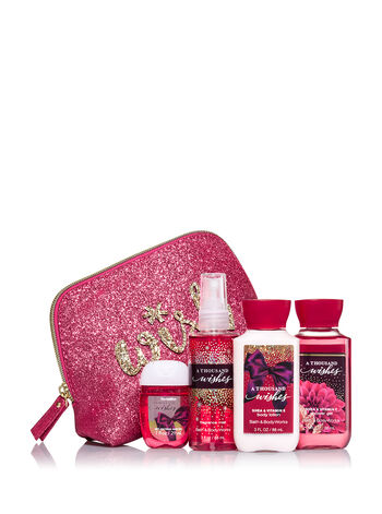 A Thousand Wishes Merry On-the-Go Gift Set - Bath And Body Works
