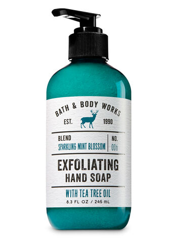 Sparkling Mint Blossom Exfoliating Hand Soap - Bath And Body Works
