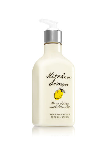 Kitchen Lemon Hand Lotion with Olive Oil - Bath And Body Works