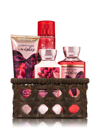 A Thousand Wishes Basket of Favorites Gift Kit - Bath And Body Works