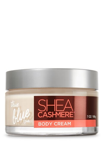 True Blue Spa Shea Cashmere Body Cream - Bath And Body Works