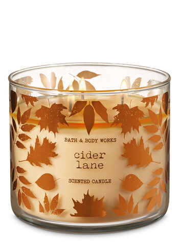 Cider Lane 3-Wick Candle - Bath And Body Works