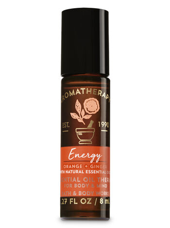 Aromatherapy Energy - Orange & Ginger Essential Oil Therapy - Bath And Body Works