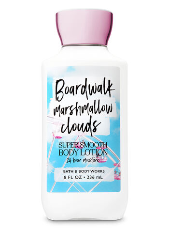 Signature Collection Boardwalk Marshmallow Clouds Super Smooth Body Lotion - Bath And Body Works