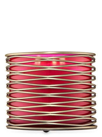 Industrial Wire 3-Wick Candle Holder - Bath And Body Works