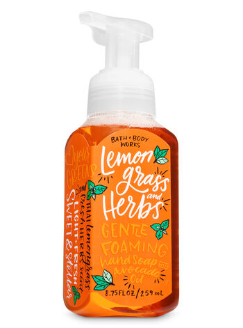 Lemongrass & Herbs Gentle Foaming Hand Soap - Bath And Body Works
