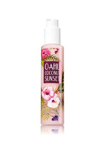 Signature Collection Oahu Coconut Sunset Aloe Gel Lotion - Bath And Body Works