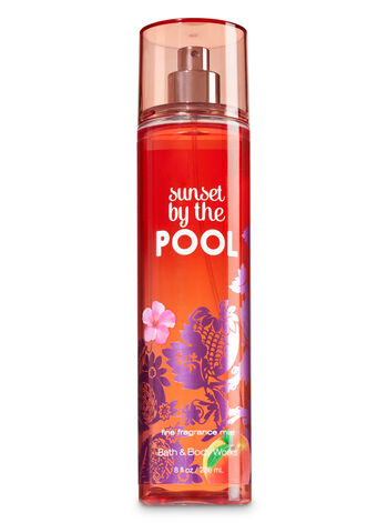 Signature Collection Sunset By The Pool Fine Fragrance Mist - Bath And Body Works
