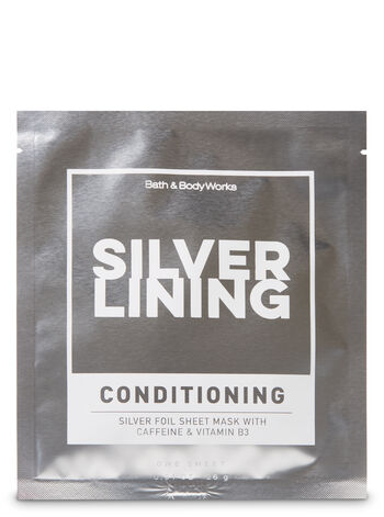 Silver Lining Conditioning Silver Foil Face Sheet Mask