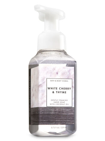 White Cherry & Thyme Gentle Foaming Hand Soap - Bath And Body Works
