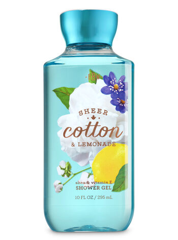 Signature Collection Sheer Cotton & Lemonade Shower Gel - Bath And Body Works