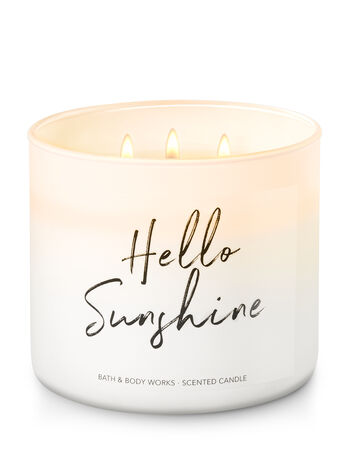 Hello Sunshine - Limoncello 3-Wick Candle - Bath And Body Works