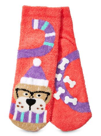 Derek the Dog Shea-Infused Lounge Socks