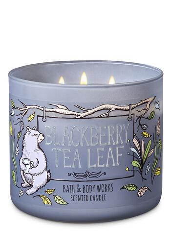 Blackberry Tea Leaf 3-Wick Candle - Bath And Body Works